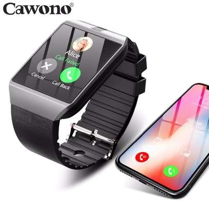 DZ09 Bluetooth Smart Watch - Black image 1