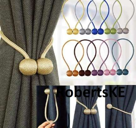 different decorative colors curtain  holders image 1