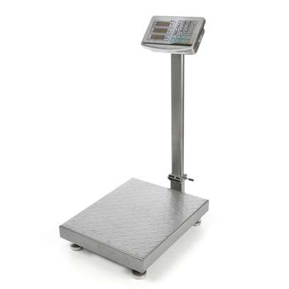 300kg Digital Floor Bench Scale Electronic Platform image 1