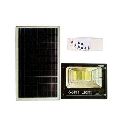 200W SOLAR FLOOD LIGHT (WATERPROOF) image 1
