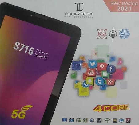luxury touch s716 kids tablet with simcard 32gb image 1