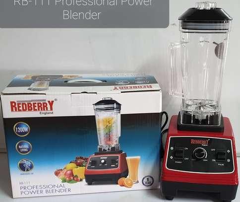Redberry commercial blender image 1