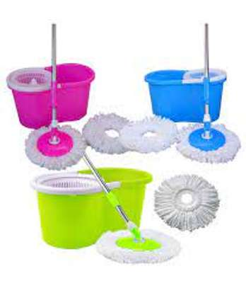 360 Rotating - Spin Mop & Bucket Set image 3