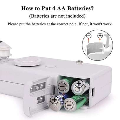 Hand held Portable sewing machine Battery powered image 4
