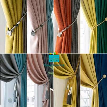LINEN MATERIAL  CURTAINS image 2