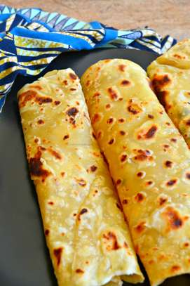 Home-made Brown or White Chapatis image 1