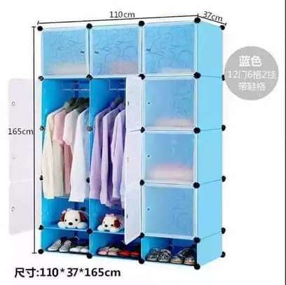 Portable Plastic wardrobe image 1