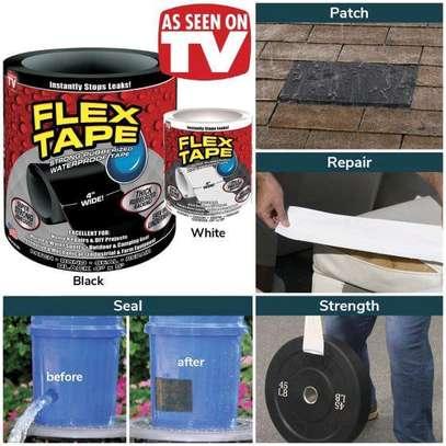 Flex Tape Waterproof Adhesive Repair Rubberized Tape image 1
