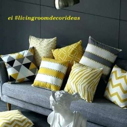 ADORABLE DECORATED  THROW PILLOWS image 2