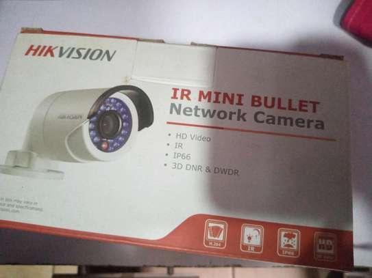 Hikvision bullet camera image 1
