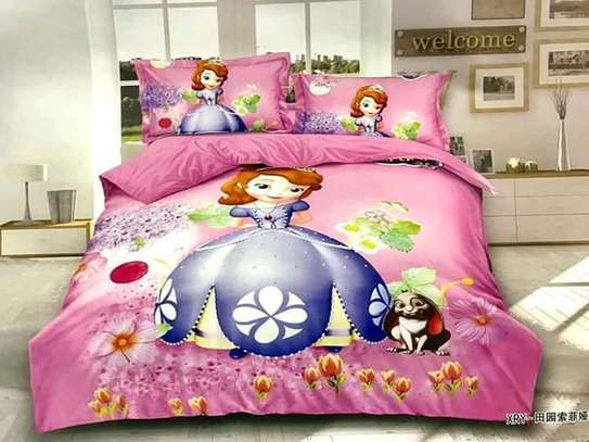 CARTOON THEMED KIDS DUVETS WITH 1 BEDSHEET AND 1 PILLOW CASE image 6