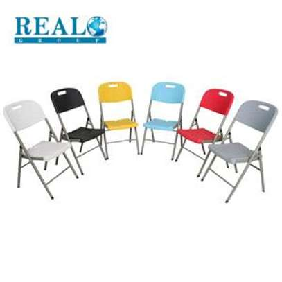 Foldable Chairs (New) image 6