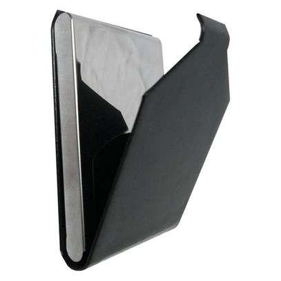 Leather card holder-Black image 1