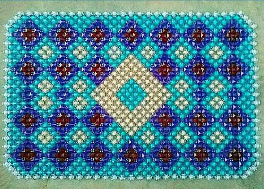 Beaded Table Mats (Large) image 4