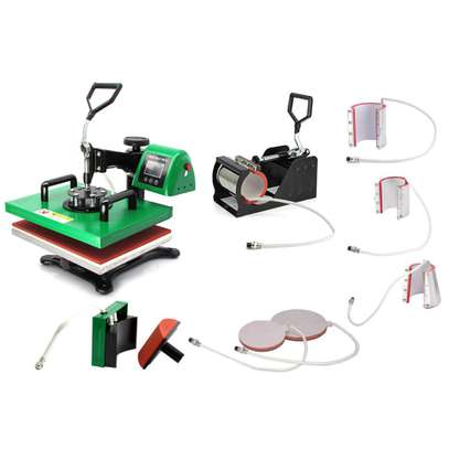 8 in 1 Multifunction Stamping Machine A3 image 1