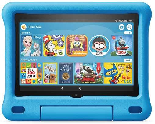 """All-new Fire HD 8 Kids Edition tablet, 8"""" HD display, 32 GB, Blue Kid-Proof Case image 1"""