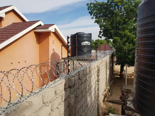 Electric fence installation in kenya.........