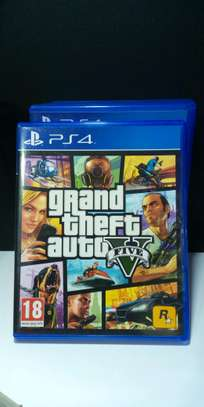 Grand Theft Auto (V)5 ps4 video game image 1