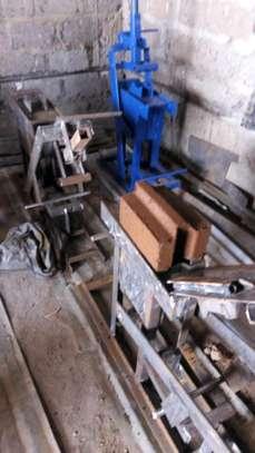 Interlocking soil block press image 3