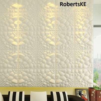 Waterproof 3D wall panel image 1