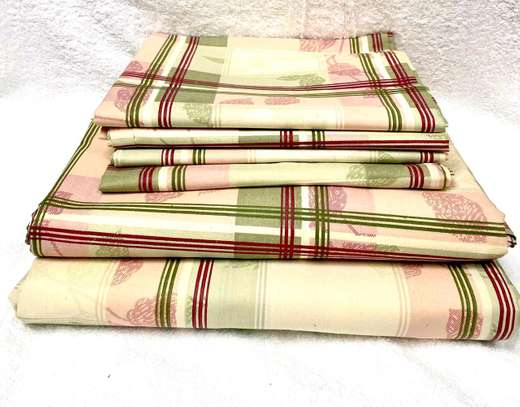 6 PC COTTON BEDSHEET SIZE 7 BY 8 image 3