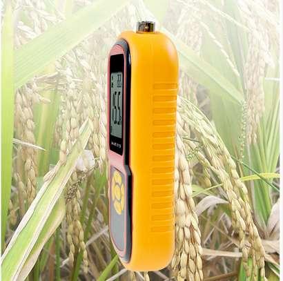 Grain Moisture Meter Corn Wheat Rice Bean Wheat +Measuring Probe GM640 Portable LCD Digital Hygrometer Humidity Tester image 2