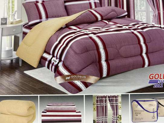 Woolen duvet with matching outfit image 1