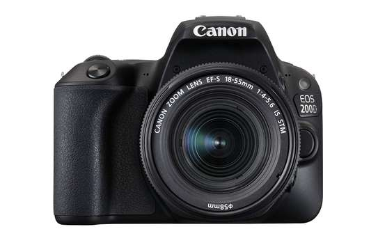 Canon EOS 200D with 18-55mm f/4-5.6 is STM Lens image 1