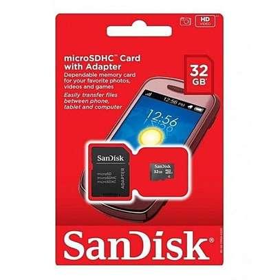 Sandisk 32GB Micro SD. image 1
