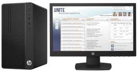 "Brand New HP Desktop Pro Microtower Business PC 8th Gen Desktop Intel Core i7 8GB RAM DDR4 1000GB(1TB) HDD DVDrw Wifi Free Dos Keyboard Mouse Plus 18.5"" TFT 1 Year Warranty"