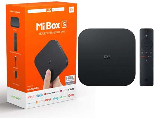 Xiaomi Mi Box S With 4K HDR Android TV Streaming Device image 1