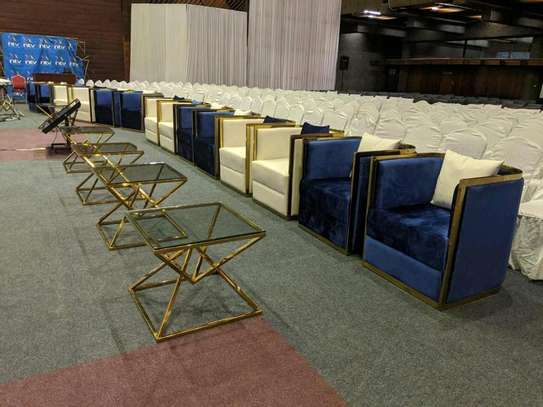 Executive Lounge Seats and Tables for Hire image 5