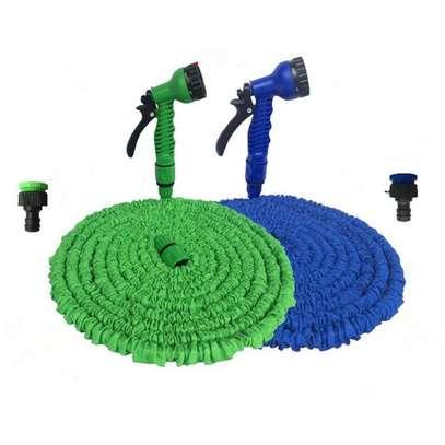 100 FT Expandable Garden Water Hose Pipe/Magic Expanding Flexible Hose image 1