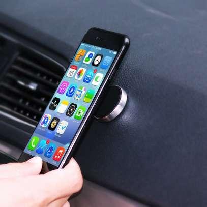 Magnetic Phone Car Mount Holder Black. image 2