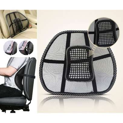 Lumbar backrest- support for car seat or office chair image 2