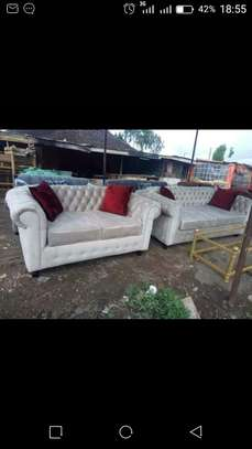 6 seater Chester sofa Set ( 3+2+1) image 4
