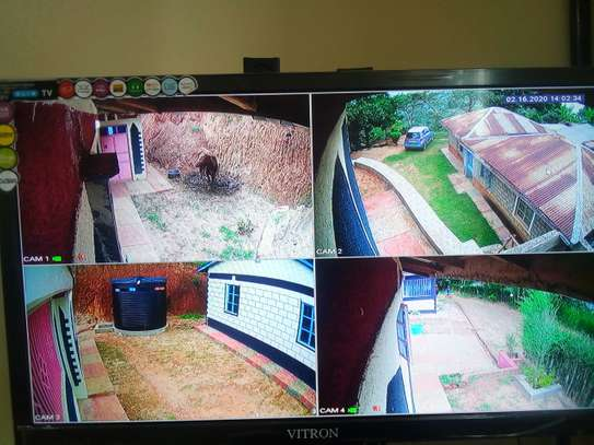 Full set with 4cctv cameras