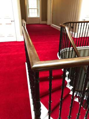 Crimson Red carpets for weddings and exhibitions image 5