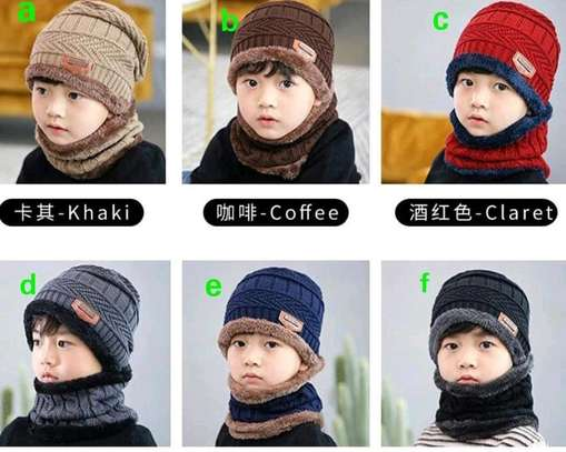 Warm kids Marvin's plus scarf sets image 1