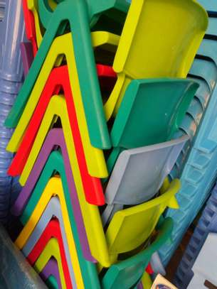 Kindergarten Plastic Chairs image 4