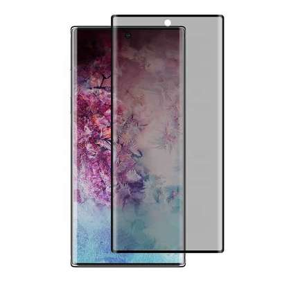 UV Privacy Anti-Spy Full Adhesive Tempered Glass film for Samsung Galaxy Note 10/10 Plus Screen Protector image 3