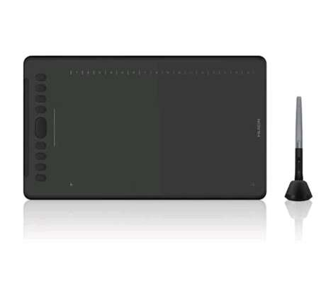 HUION Inspiroy H1161 Graphics Drawing Tablet Android Support with Battery-Free Stylus 8192 Pressure Sensitivity Tilt Touch Bar 10 Press Keys for Art image 4