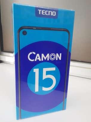 "Tecno Camon 15, 6.6"", 64GB + 4GB (Dual SIM), 48M AI Quad Camera - Purple image 1"