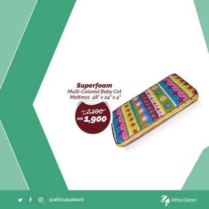 Superfoam Baby Cot Mattress image 1