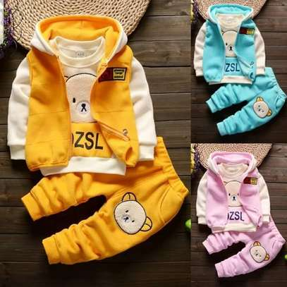 3pc Boy warm Outfit