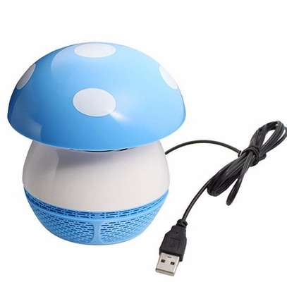 Mushroom Shaped Mosquito Insect Bug Killer Repellent With Fan - 1 Pc - Random