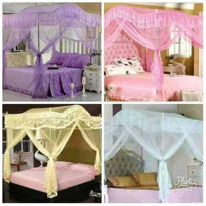 CURVED CANOPY MOSQUITO NET