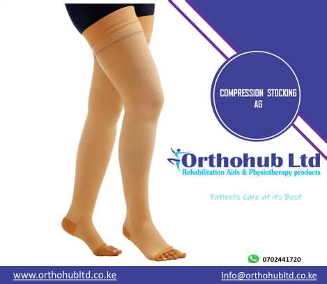 Compression Stocking Above knee image 1