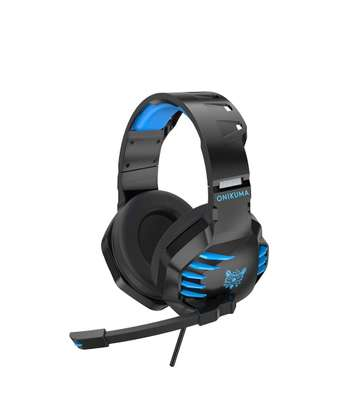 ONIKUMA K17 Stereo Gaming Headset for PC, Consoles and Mobiles with LED Light