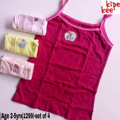 Girls Cartoon Themed Vests image 5